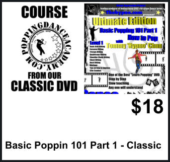 $18 Basic Poppin 101 Part 1 - Classic